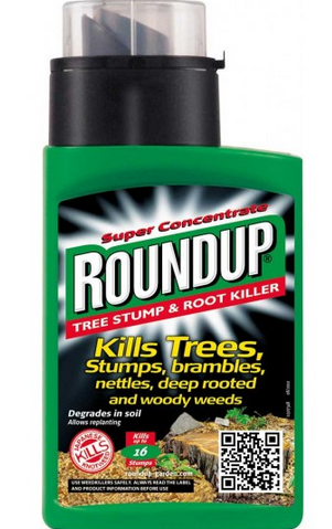 Roundup Tree Stump and Root Killer Review - Weedicide co uk