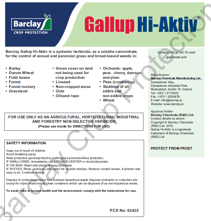 barclay-gallup-490-hi-aktiv-weed-killer