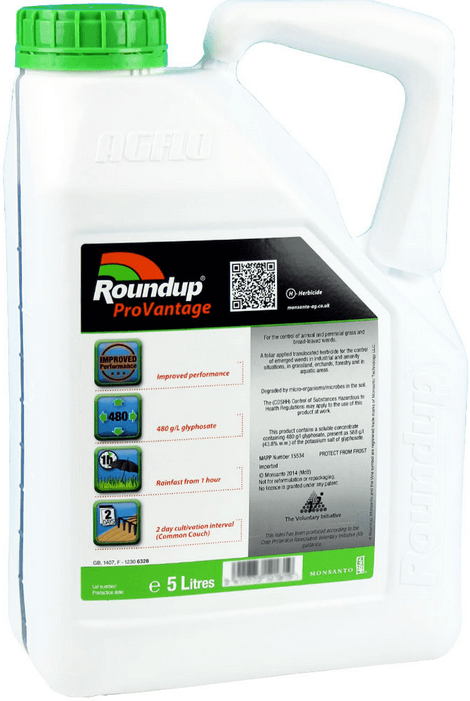 Roundup Pro-Vantage 480 5L Industrial Weed Killer Review