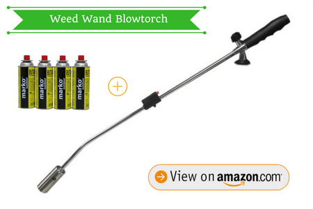 Marko Gardening Butane Gas Weed Wand Blowtorch